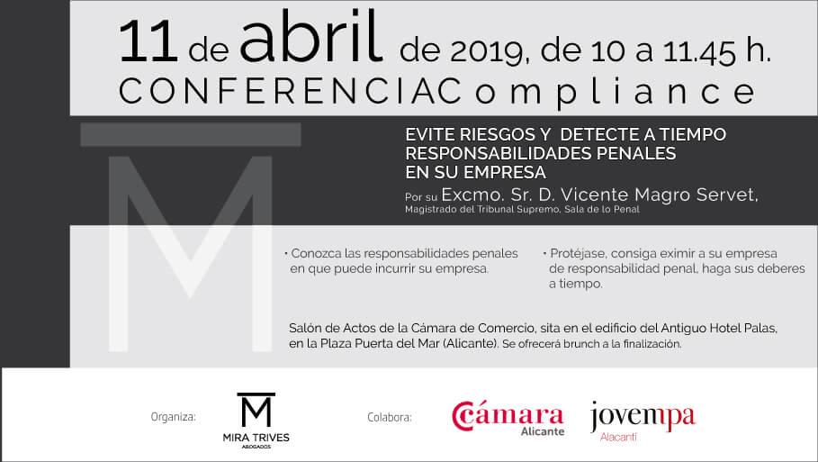 Conferencia de Compliance para empresas